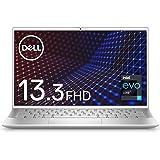 【インテル Evo プラットフォーム】Dell モバイルノートパソコン Inspiron 13 7300 シルバー Win10/13.3FHD/Core i7-1165G7/8GB/512GB/Webカメラ/無線LAN MI773A-AWL
