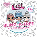 L.O.L. Surprise! Bling-A-Tree Advent Calendar: (l.O.L. Gifts for Girls Aged 6+, Lol Surprise, Trim a Tree, Craft Kit, 25+ Sur