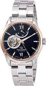 [オリエント時計] 腕時計 オリエントスター コンテンポラリー セミスケルトン Contemporary Semiskeleton 500本 MOVING BLUE パワーリザーブ50時間搭載 RK-AT0008L メンズ シルバー