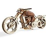 Ugears ユーギアーズ Bike VM-02 バイクVM-02 ;70051 木のおもちゃ 3D立体 パズル