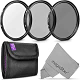67MM Altura Photo Professional Photography Filter Kit (UV, CPL Polarizer, Neutral Density ND4) for Camera Lens with 67MM Filt
