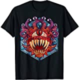Dungeons & Dragons Beholder Stained Glass Tシャツ