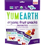 YumEarth Organic Fruit Snacks, 0.7 Ounce, Pack of 5