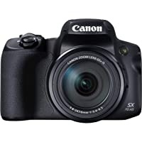 Canon PowerShot SX70 HS Compact Digital Camera with 65x Optical Zoom, Built in EVF, Wi…