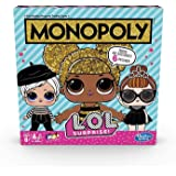 MONOPOLY LOL SURPRISE Edition - Buy, Trade and Swap Dolls - 6 Token Accessories - Kids Toys and Board Games - 2 to 4 Players