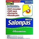 Salonpas Medicated Plaster, 20ct