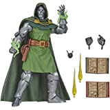 Marvel Vintage Series 6-inch Scale Dr. Doom Fantastic 4 Action Figure Toy, 10 Accessories, Marvel Super Hero Collectible Seri