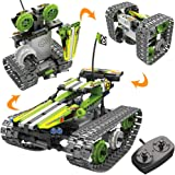 STEM Toys Remote Control Building Sets for Boys 8-12 Years Old, 3-in-1 RC Engineering Kit Builds Tracked Car/Robot/Tank. 2.4G