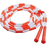 Champion Sports Segmented Jump Rope for Fitness - Classic Beaded Jump Ropes for Physical Education, Gym Glass, Personal Use -