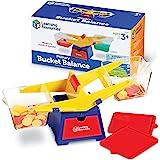 Learning Resources LER1521 Primary Bucket Balance,16-1/2inx6-1/2inx6in,Multicolor