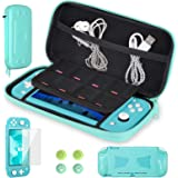 CoBak Carrying Case for Nintendo Switch Lite - Get 1 Extra Screen Protector for Free, Ultra Slim Premium EVA Travel Pouch Pro