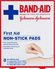 Band-Aid First Aid Non-Stick Pads 8