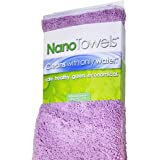 Life Miracle Nano Towels - Amazing Eco Fabric That Cleans Virtually Any Surface with Only Water. No More Paper Towels Or Toxi