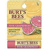 Burt's Bees 100% Natural Lip Balm, Pink Grapefruit Blister Box, 0.15 Ounce