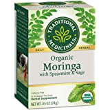 Traditional Medicinals Organic Moringa Tea, 24g