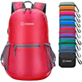 ZOMAKE Waterproof Ultra Lightweight Packable Backpack Hiking Daypack,Small Backpack Handy Foldable Travel Outdoor Backpack Ul
