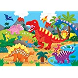 Dinosaurs Kids' Floor Puzzle (48 Pieces) (36 inches wide x 24 inches high)