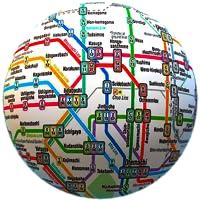 Public transport maps offline - The whole world