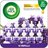 Air Wick Plug in Scented Oil Refills, Lavender and Chamomile, Eco Friendly, Essential Oils, Air Freshener, 0.67 Fl Oz, Pack o