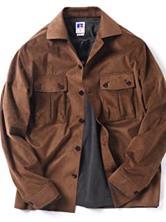 Ultrasuede Safari Jacket 114-00-0051: Brown