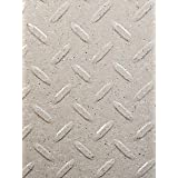 Resilia Diamond Plate Under The Sink Mat, 24 x 48 inches, Sandstone