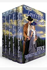 Love's First Touch Boxed Set: Five Novels Of First Love From The Past Kindle Edition