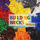 クラシックビルディングブロックおもちゃ れごぶろっく| 1000クリエイティブパーツ| 10色| 14種類の仕様| 6歳…