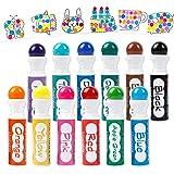 Shuttle Art 12 Colors Washable Dot Markers, Bingo Daubers Dabbers Dauber Dawgs for Kids Toddlers Preschool Children Art Craft