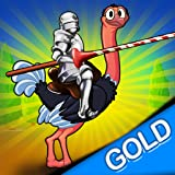 中世の戦争ostridgeの馬上槍試合:クレイジー鳥の騎士の戦い - ゴールドエディション