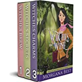 Witches and Wine: 3 Book Box Set: Cozy Mystery series (Witches and Wine Series Boxset 1)