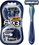 BIC Flex 3 Disposable Men's Razors - Pack of 4