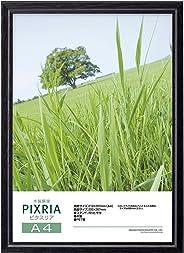 【まとめ買いセット】HAKUBA 木製額縁 ピクスリア A4 ブラック 10枚セット AMZFWPX-BK10A4