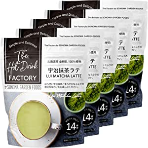 The Hot Drink FACTORY 宇治抹茶ラテ 200g×5個