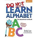 Do Not Learn Workbooks - Alphabet
