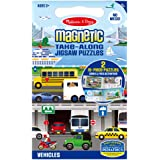 Melissa & Doug - Magnetic Take Along Jigsaw Puzzles - Vehicles