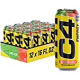 C4 Original Sugar Free Energy Drink 16oz (Pack of 12) | Cherry Limeade | Pre Workout Performance Drink with No Artificial Col