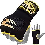 正規品 RDX 簡単バンテージ マジックテープ式 インナーグローブ ボクシング MMA 衝撃吸収ゲルパッド入り 各色/サイズ