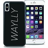 【廃番品】LOGO WHITE iPhone X/XS【旧WAYLLY】