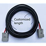 4.59^mm^2 (6mm) 50A Anderson Plug Extension Lead. Customized Length