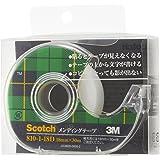 3M スコッチ テープ メンディングテープ ディスペンサー付 18mm×30 小巻 810-1-18D