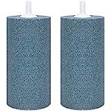 VIVOSUN Air Stone 2PCS 4 X 2 Inch Large Air Stone Cylinder for Aquarium and Hydroponics Air Pump