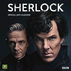 Sherlock Official 2019 Calendar - Square Wall Calendar Format