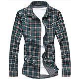 [CEEN] シャツ メンズ カジュアル ギンガムチェック 長袖 ネルシャツ 大きいサイズ