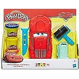 Play Doh - Disney Pixar Cars - Lightning McQueen Playset inc 3 Tubs & Accessories