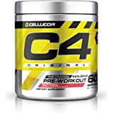 C4 Original Pre Workout Powder Fruit Punch | Vitamin C for Immune Support | Sugar Free Preworkout Energy for Men & Women | 15