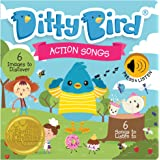 DITTY BIRD Baby Sound Book: Our Action Songs Musical Book for Babies is The Perfect Toys for 1 Year Old boy and 1 Year Old Gi
