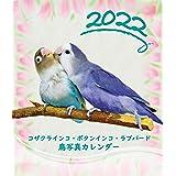 【Amazon.co.jp 限定】コザクラインコ・ボタンインコ・ラブバード鳥写真カレンダー2022 (CDサイズ。ワンタッチで卓上にも壁掛けにもなる3Wayカレンダー)