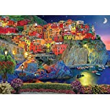 DIY Paint by Numbers Kit for Adults - Cinque Terre Italy | Paint by Number Kit On Canvas for Beginners | Home Wall Decor | Pr