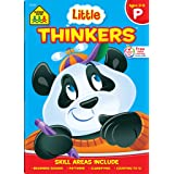 School Zone - Little Thinkers Preschool Workbook - 64 Pages, Ages 3 to 5, Compare and Contrast, Critical Thinking, Problem-So