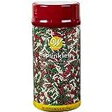 Food Items 710-7659 Sprinkles XL JAR Xmas, us:one Size, Christmas Jimmies